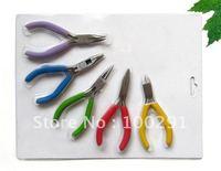 ww//beautiful and useful DIY  tool 10 pcs a set free shipping Mini Hand Tools forcep Pliers Beading Jewelry Tool