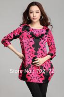 Flower - long slim fashion women dress  99035