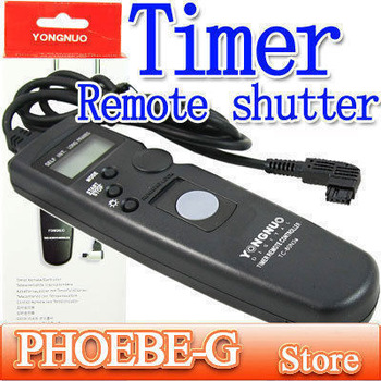 100% New YongNuoTimer Remote shutter for Son Alpha DSLR-A100 A200 A300 A350 A700 A900 Digital Camera Free Shipping