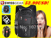 SwissGear,wenger,Swiss Gear cross 15.6 inch Laptop computer Bag,student bag,college backpack,laptop backpack,double shoulder bag