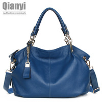 Genuine Leather Women Handbag 2013 New Fashion Leather Bag Messenger Bag Brand Designer Handbag Woman Handbag Shoulder Bag