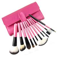 hot 11 pcs pro Goat hair makeup brushes,makeup tools freeshipping