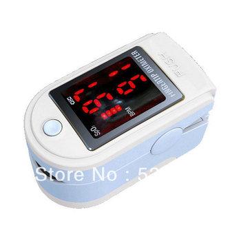 *White* CE FDA Approved Finger SPO2 Monitor, Fingertip Pulse Oximeter Blood Oxygen Saturation Monitor, Brand New CMS50DL
