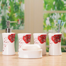ceramic bathroom set price
