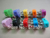 True enough 1A UK USB Wall 3 Pin Power Plug Charger Adapter For all IPhone 4 4s 5 /ipod/samsung/*200pcs/lot free by dhl