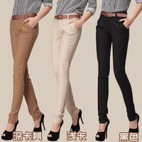 2013 casual design long pencil pants pants straight harem pants send strap/free shipping