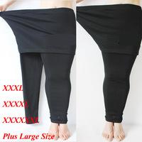 2014 Winter & Autumn Thick Women Thicken Leggings Plus Large Big Size Cotton Wool Spinning XXXL XXXXL XXXXXL Fat Girls Pants