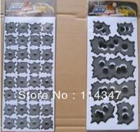 Car sticker Bullet holes style Vinyl decal decor grey color