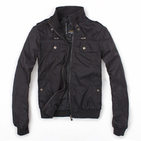 Freeshipping brand designer fashion jacket men  terranova male slim zipper jacket   2013 480g
