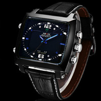 Hongkong Post free shipping hot fashion brand men's dual-core relogio LED digital sport watch movement best gift