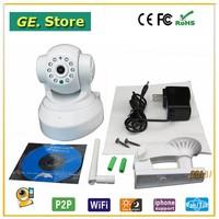 New Arrival Indoor P2P IR Cut Pan Tilt Wireless Wifi HD IP Camera H.264,720P Two Way Audio Webcam Support TF Recording