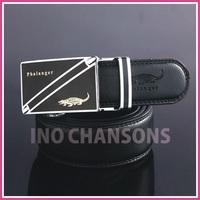 2013 new fashion genuine leather men belts,waist belts,Men's automatic buckle leather belt (crocodile of brand) Freeshipping