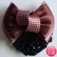 Hair accessory bow dot quality