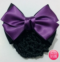 Hair accessory net bag flower bow