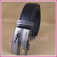 2013 new fashion Crocodile strap genuine leather male belt automatic buckle cowhide belt birthday gift Freeshipping