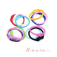 New Anion Sports Wrist Bracelet Silicon Unisex Watch M3AO