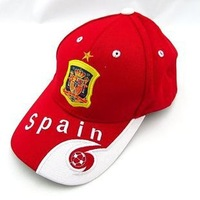 spain national team sun hat football hat embroidered cap sun hat fans supplies