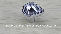 D34xH31mm Free shipping luxurious K9 crystal glass kitchen knob/crystal drawer knob