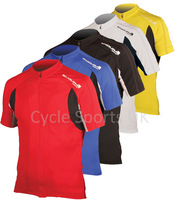 Endura jersey male men ride short-sleeve endura FS260 Pro Jersey II Color red blue black yellow white Size M-XL Free Shipping