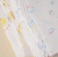 handkerchief 100% cotton baby muslin cloths Baby cotton double gauze cartoons handkerchief towel Bath
