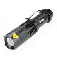 Flashlight led light glare t6 zoom flashlight charge mini flashlight strong light glare