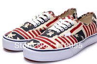 """WALL""  NEWEST Women's USA Flag Sneakers Brand Sport Casual Low Top Casual Running Shoes Drop shipping"