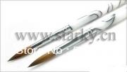 2013 kolinsky sable hair acrylic nail brush 6#(China (Mainland))