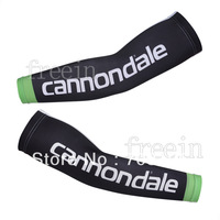 Free Shipping! 2013 Black CANNON Seleev Warmers High quality Bicycle BikeTeam Out Sports Cycling UV Protection Arm Warmers pair