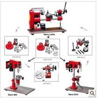 100X100mm 150W DIY Mini Micro Metal Lathe Mill Drill Machine Tool 3 in 1 Variable Speed SIEG Nano