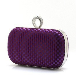 2013 New Women's Satin weaved Finger Clutch Bag Hot Selling Good Quailty Small Evening Bag Ladies Shoulder Bag NO 03871