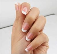 100pcs Short French Nail Art Wrap Tips Edge Form Guide Decoration Salon DIY Free Shipping GT179