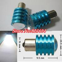 Free Shipping CREE 12W Q5 x 4 1156/BA15S/P21W Xenon LED DRL/Side/Parking/Fog White