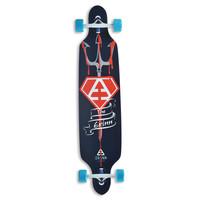 Backfire New Design trident sector 9 longboard skateboards canadian skate longboard complete blue