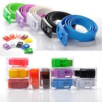 Golf belt, men and ladies golf belts, environmental protection, fragrance belt,  multicolor color belts