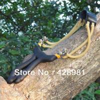 New Ture man Slingshot Sling Shot Rattlesnake slingshot-size M