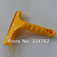 Soft Car Window Scraper Cleaning Blade (Yellow) free shipping