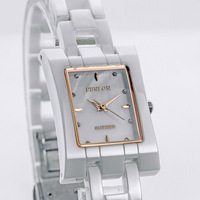 Quartz ceramic Women watch fashion bracelet ultra-thin movement watch