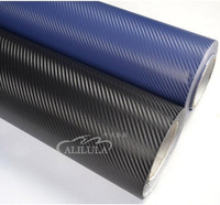 ISO/CE/SGS 3d carbon fiber film, car color change film,Carbon Film/Carbon Fiber Car Wrapping Film With Air Free