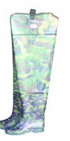 BootFoot Waders Pvc 0.65mm Camouflage knitted         waterproof fishing wading pants Free shipping