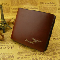 Bovis wallet casual wallet male short design cowhide wallet genuine leather wallet