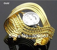10pcs Hot Top selling style brand wholesale Bangle bracelets wrist fashion Dress Quartz watch Women's watch Ladies wedding gift