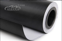 Top quality car film in red/black/silver/blue color car decoration 3d carbon film with air free 1.52*30m