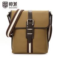 Male shoulder bag casual bag man commercial cloth messenger bag fashion backpack