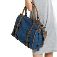 2013 women's handbag vintage canvas shoulder bag handbag messenger bag motorcycle canvas big bag