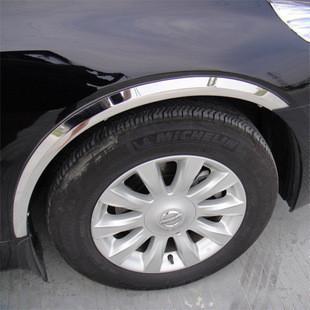 Kia special wheel eyebrow thickening stainless steel wheel eyebrow curviplanar light bar wheel arc decoration strip