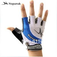 Nepartak ride gloves semi-finger bicycle mountain bike short ride breathable shock absorption