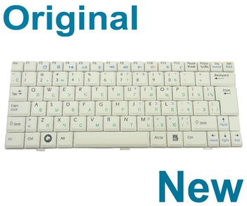 New For MSI Wind U120 U123 U123T U123H U130 U101 U101B U110 U115 U100X Keyboard RU Russian TECLADO White