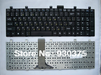Black Russian  RU  Keyboard for MSI Wind VX600 EX600R L700 700P CR600 GX6 A6000 +fast shipping