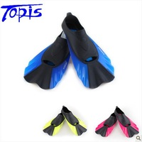 Short topis fins submersible short fins snorkel fins submersible  hot free