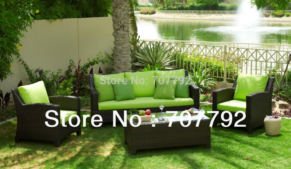 new design cheap modern patio furniture in rattan wicker
